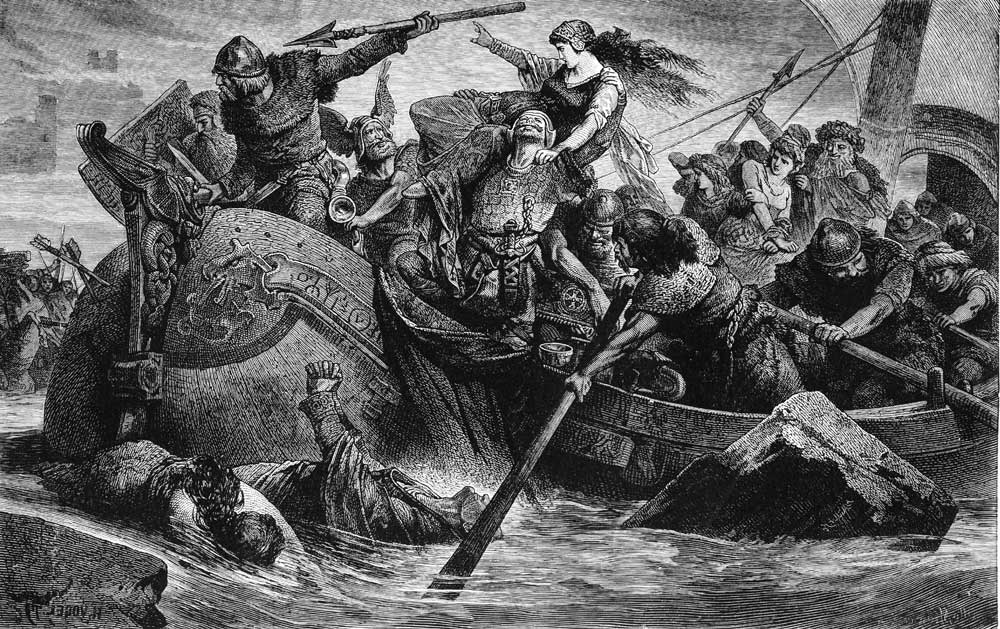 Vikings Under the Son