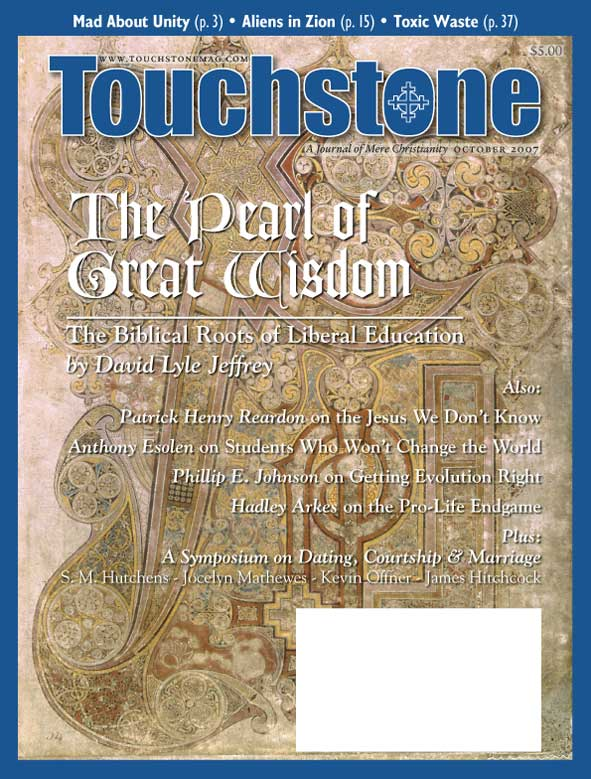 Touchstone October 2007