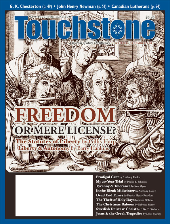 Touchstone November/December 2011