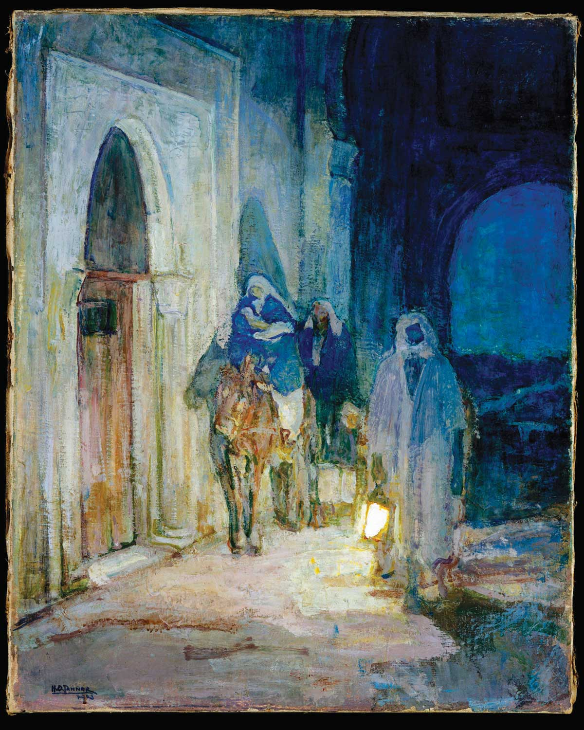 Henry Ossawa Tanner's The Flight into Egypt
