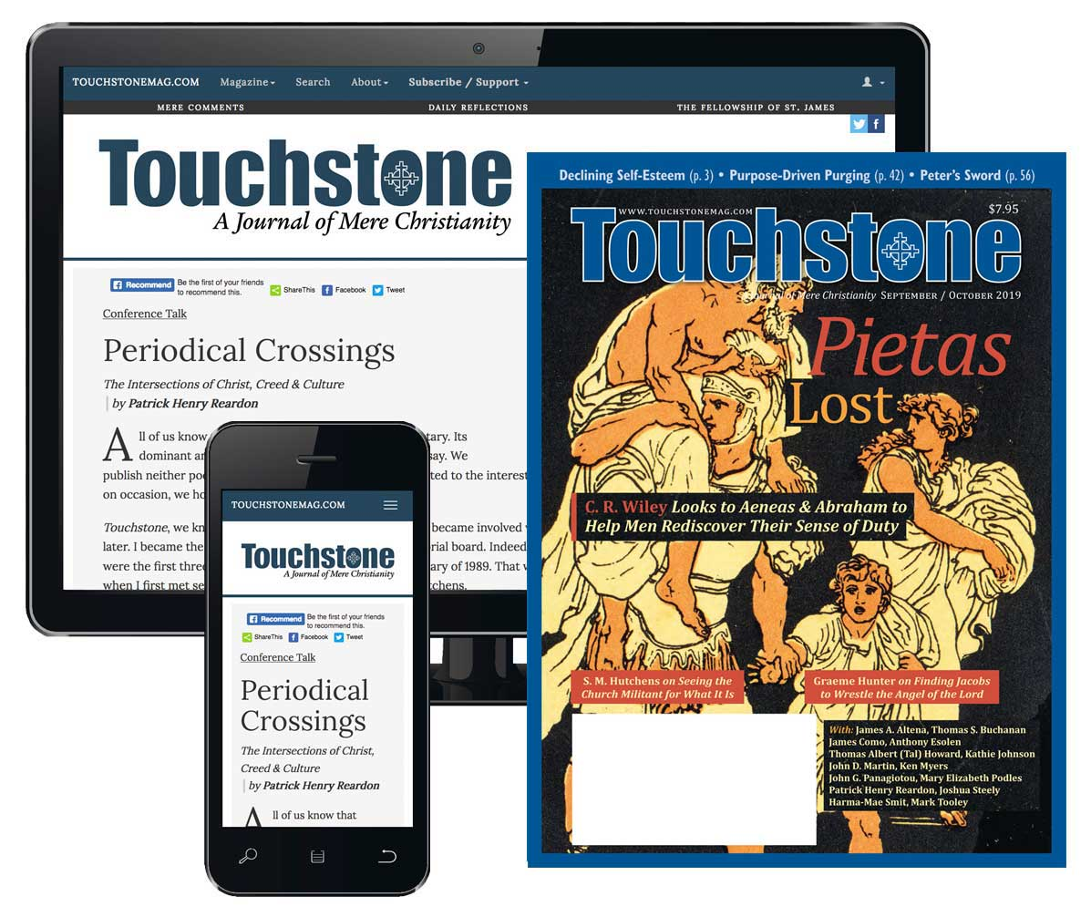 The Truth About Men & Church: The Touchstone Archives